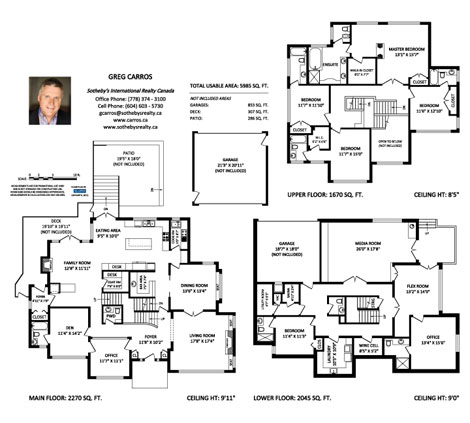 Real Estate Floor Plans Vancouver