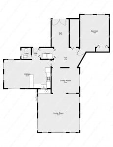 Measuring floor plans with your phone review of the for Floor plan with dimensions in meters pdf